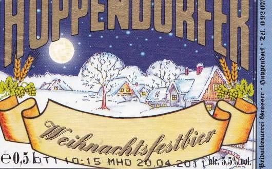 Huppendorfer Weihnachtsfestbier