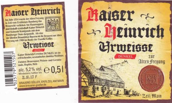 Kaiser Heinrich Urweisse Dunkel