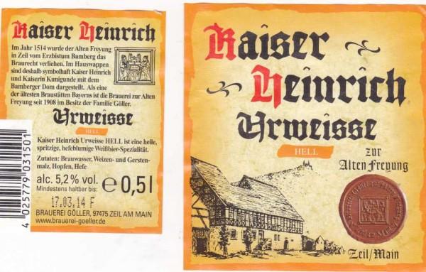 Kaiser Heinrich Urweisse Hell
