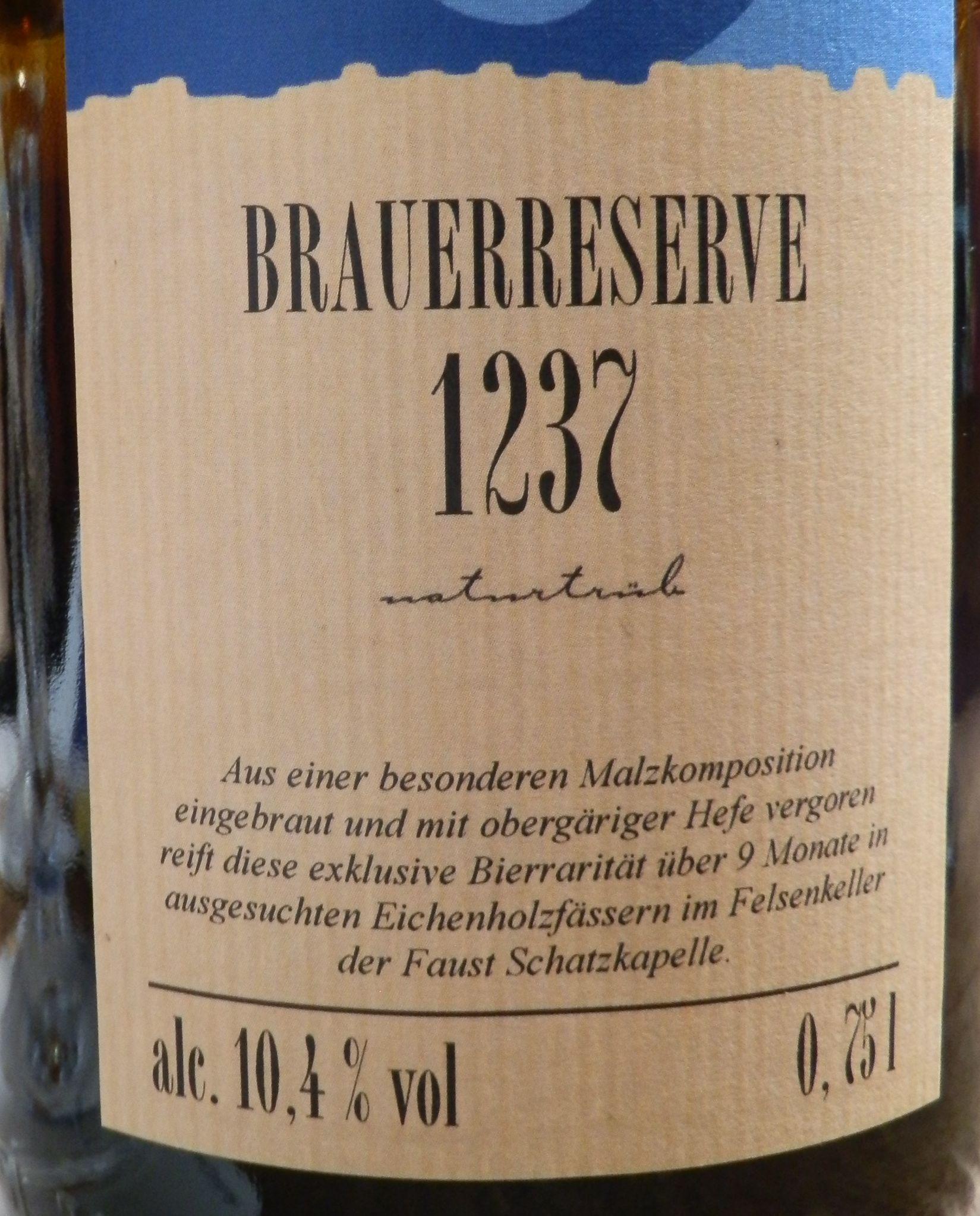 Faust Brauerreserve 1237 3