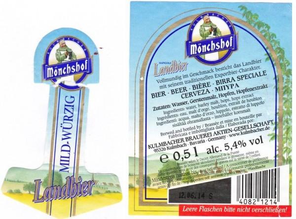 Mönchshof Maingold Landbier 3