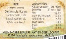 Mönchshof Naturtrüb's 3