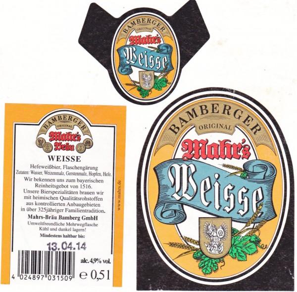 Mahr's Bräu/Bamberg: Weisse (Nr. 1220)