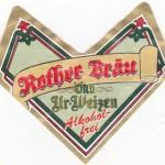 Rother Bräu/Roth i.d. Rhön: Öko Ur-Weizen Alkoholfrei (Nr. 1238)