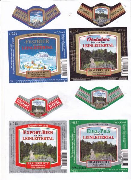Brauerei Ott/Oberleinleiter: Weißbier (Nr. 1298)