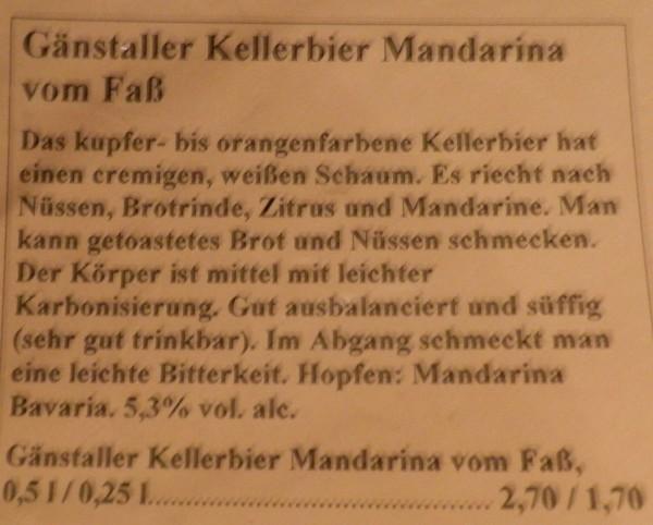 Gänstaller Kellerbier mandarina 2