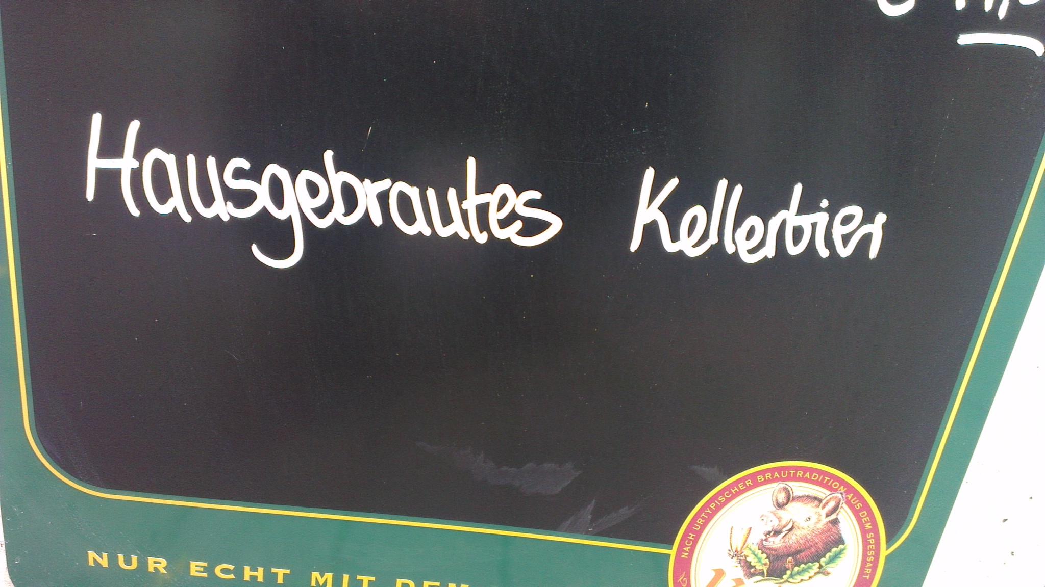 Keiler Kellerbier hausgebraut