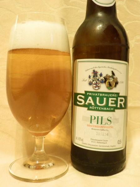 Brauerei Sauer/Röttenbach: Pils (Nr. 1420)