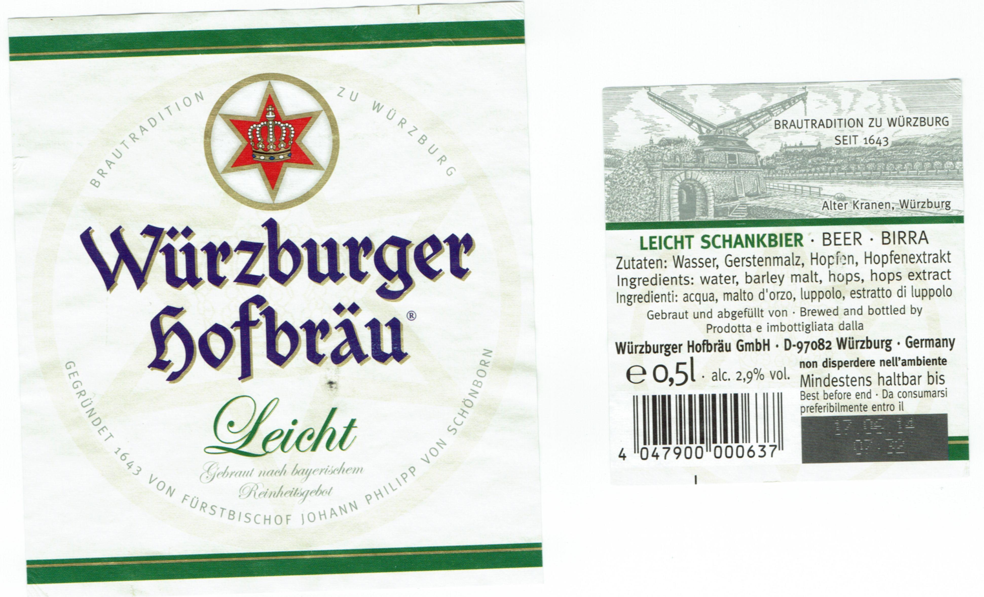 Würzburger Leicht 2