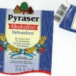 Pyraser/Pyras: Hefeweizen Alkoholfrei (Nr. 1596)