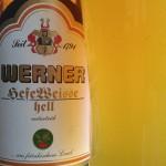 Würzburger Hofbräu/Würzburg (Kulmbacher): Werner HefeWeisse hell (Nr. 1640)