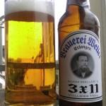 Brauerei Weller/Erlangen (gebraut bei Göller/Zeil am Main): 3×11 (Nr. 1697)