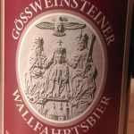 Brauerei Held/Oberailsfeld: Gössweinsteiner Wallfahrtsbier (Nr. 1796)