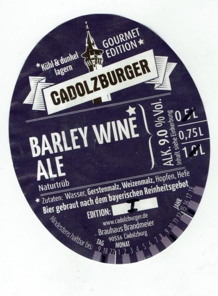Barley Wine 1