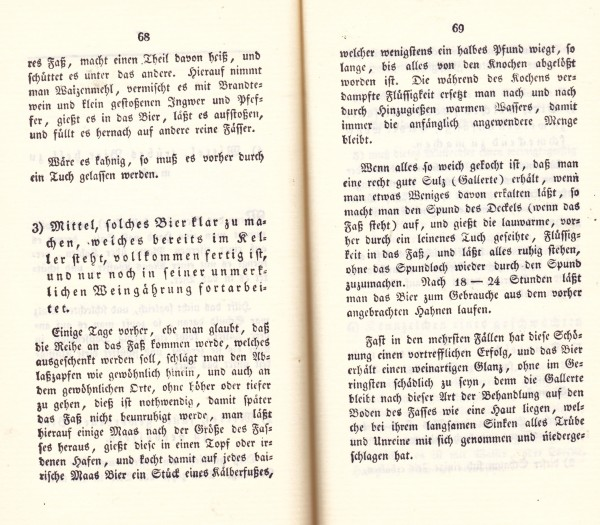 Quelle: Seifert, Johann Albert Joseph Das Bamberger Bier. Nachdruck der Ausgabe von 1818.