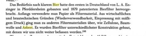 Quelle: Bier, Wissenschaft und Wirtschaft in Deutschland 1800 - 1914. Ein Beitrag zur deutschen Industrialisierungsgeschichte