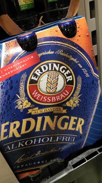 Die Jahreszahl 1516 ist Teil des gesamten Marketingauftritts von Erdinger.