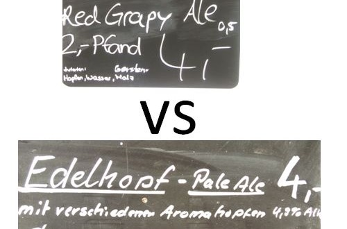Red Grapy vs EdelHopf