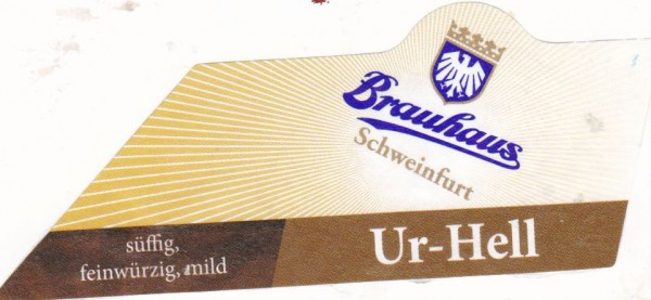 Brauhaus Schweinfurt Ur-Hell1
