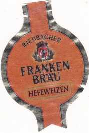 Franken Bräu Hefeweizen 3