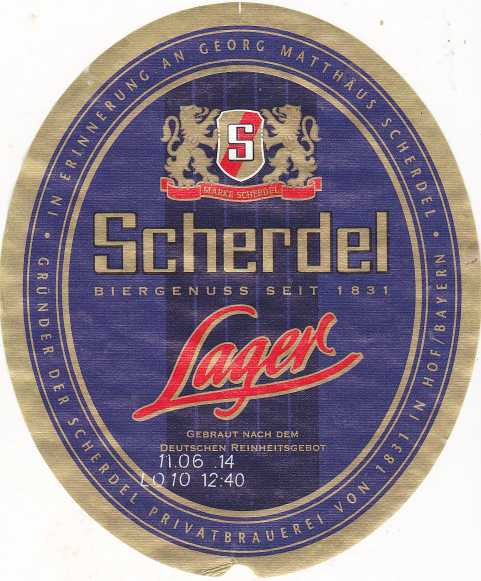 Scherdel Lager 2
