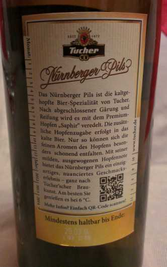 Tucher Nürnberger Pils 3