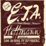 Mahr's Bräu/Bamberg: E.T.A. Hoffmann (Nr. 33)