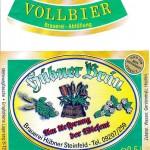 Brauerei Hübner/Steinfeld: Vollbier (Nr. 55)