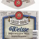 Brauerei Greif/Forchheim: Greif Weisse Hefeweizen Hell (Nr. 69)