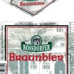 Brauerei Sauer/Rossdorf: Braunbier (Nr. 114)