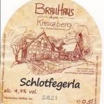 Brauhaus am Kreuzberg/Hallerndorf: Schlotfegerla (Nr. 121)