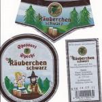 Spessart Brauerei Specht/Kreuzwertheim: Räuberschen schwarz (Nr. 207)