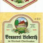 Brauerei Lieberth/Hallerndorf: Lagerbier (Nr. 115)