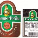 Gampert Bräu/Weißenbrunn: Förster Dunkel (Nr. 166)