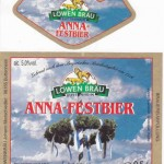 Löwenbräu/Buttenheim: Anna-Festbier (Nr. 203)