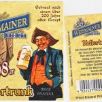 Püls Bräu/Weismain: Original 1798er Kellertrunk (Nr. 196)