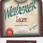 Brauerei Kundmüller/Weiher: Weiherer Lager (Nr. 228)