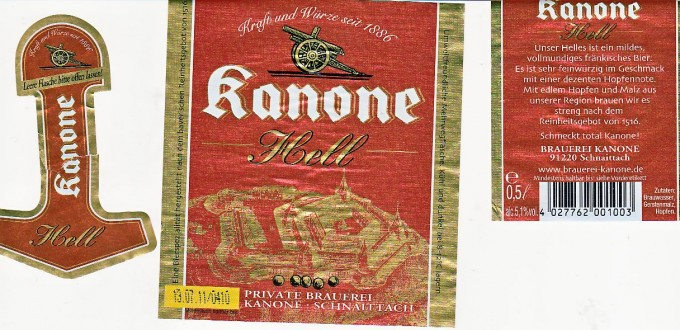 kanone-hell