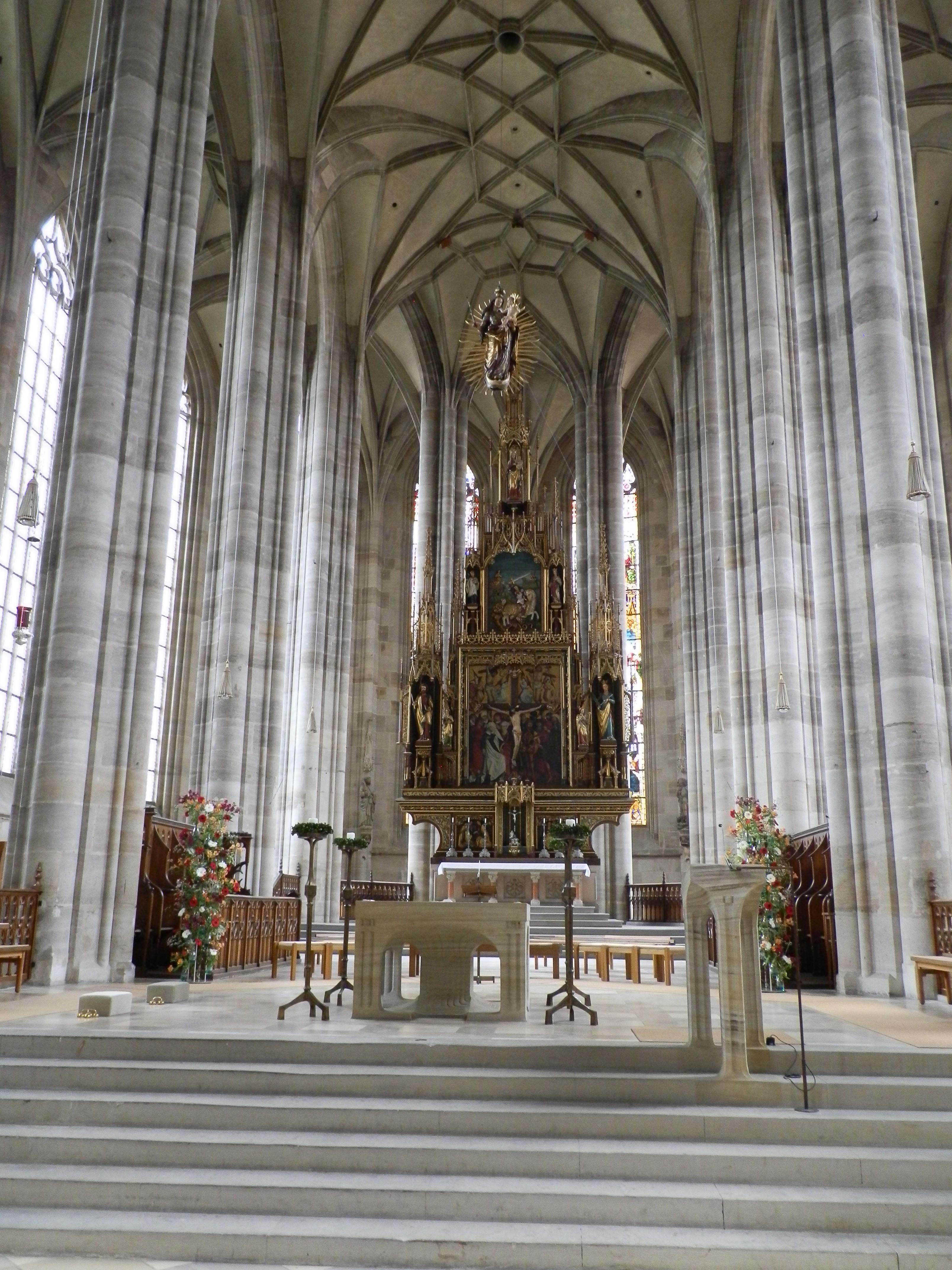 Nur eines von vielen Highlights in Dinkelsbühl: das St. Georgs-Münster.