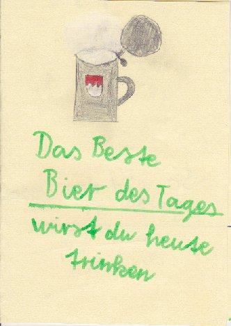 Hach wie schön ... Bei so einer Vatertags-Karte kann einem richtig warm ums Herz werden. Ein herzlicher Dank an alle verständnisvollen Frauen und Kinder ...