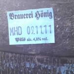 Brauerei Hönig/Tiefenellern: Pils (Nr. 248)