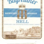 Bayreuther Brauhaus/Bayreuth: Bayreuther Hell (Nr. 287)