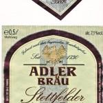Adler Bräu/Stettfeld: Stettfelder Heller Bock (Nr. 304)