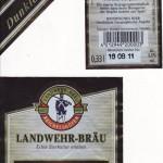 Landwehr Bräu/Reichelshof: Dunkler Bock (Nr. 289)