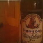 Brauerei Hönig/Tiefenellern: Bockbier (Nr. 307)