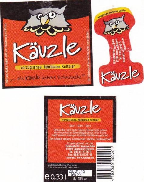 Kauzen Bräu/Ochsenfurt: Käuzle (Nr. 275)