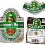 Gampertbräu/Weißenbrunn: Förster-Pils (Nr. 290)