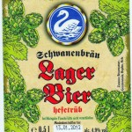 Schwanenbräu/Burgebrach: Lagerbier (Nr. 294)