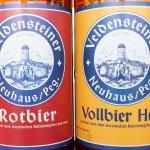 Brauerei Kaiser/Neuhaus: Veldensteiner Vollbier Hell & Rotbier (Nr. 1997 & 1998)