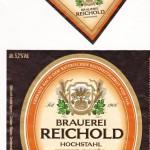 Brauerei Reichold/Hochstahl: Zwick'l (Nr. 330)